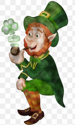 Christmas Elf Holiday - Saint Patrick's Day PNG