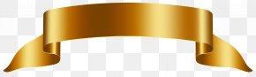 Gold Banner Free Clip Art Image - Banner Clip Art PNG