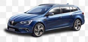 Blue Renault Megane Sport Tourer Car - Geneva Motor Show Renault Mxe9gane Estate GT Mxe9gane Renault Sport Car PNG