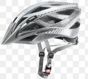 Silver Modern Hat - Bicycle Helmet UVEX Cross-country Cycling PNG