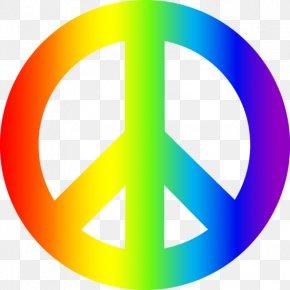 Peace Symbol Clipart - Peace Symbols Hippie Clip Art PNG