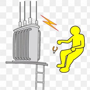 High Voltage Electric Shock - Electrical Injury Electricity High Voltage Accident PNG
