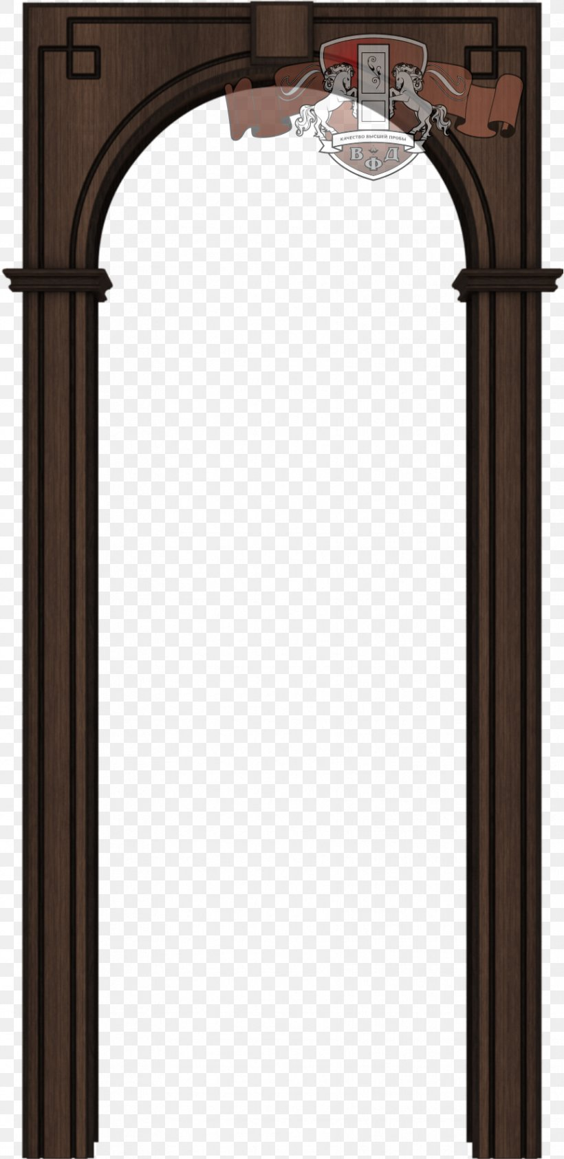 Arch Wood Veneer Door Medium Density Fibreboard Png