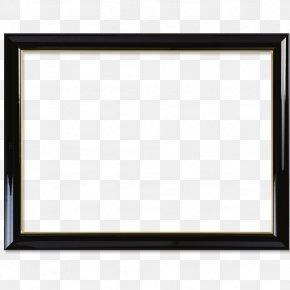 Black Frame - Picture Frame Download PNG