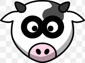 Head Cliparts - Holstein Friesian Cattle Beef Cattle Cartoon Clip Art PNG