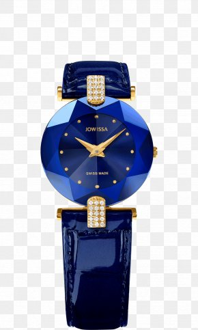 Ladies Watch - Jowissa Watch Swiss Made Strap Leather PNG