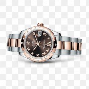 Rolex - Rolex Datejust Rolex Oyster Counterfeit Watch PNG