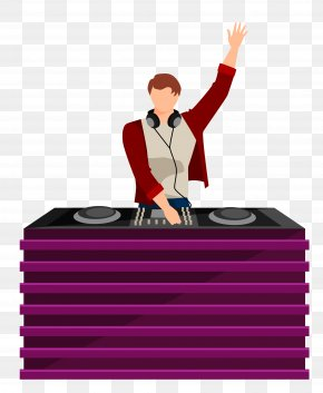 Vector DJ Staff Material - Text Cartoon Illustration PNG