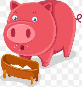 Pig - Domestic Pig Cartoon Farm Clip Art PNG