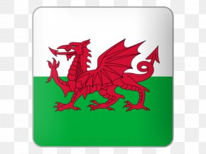 Flag Of Wales - Flag Of Wales Principality Of Wales National Flag PNG