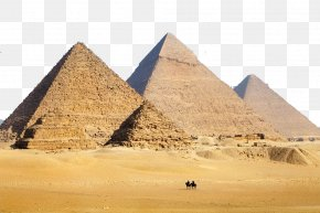 Pyramid Landscape Photography - Great Sphinx Of Giza Great Pyramid Of Giza Pyramid Of Khafre Saqqara Egyptian Pyramids PNG