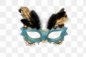 Creative Feather Masks - Carnival Of Venice Mask Masquerade Ball PNG