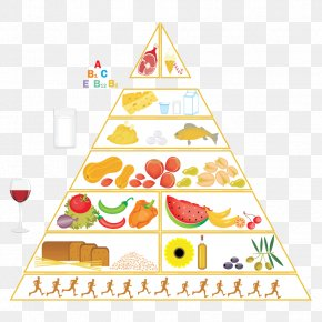 Health - Food Pyramid Healthy Diet Vector Graphics Nutrition PNG