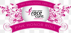 Susan G. Komen For The Cure - Lip Balm Susan G. Komen For The Cure Logo Beeswax Brand PNG