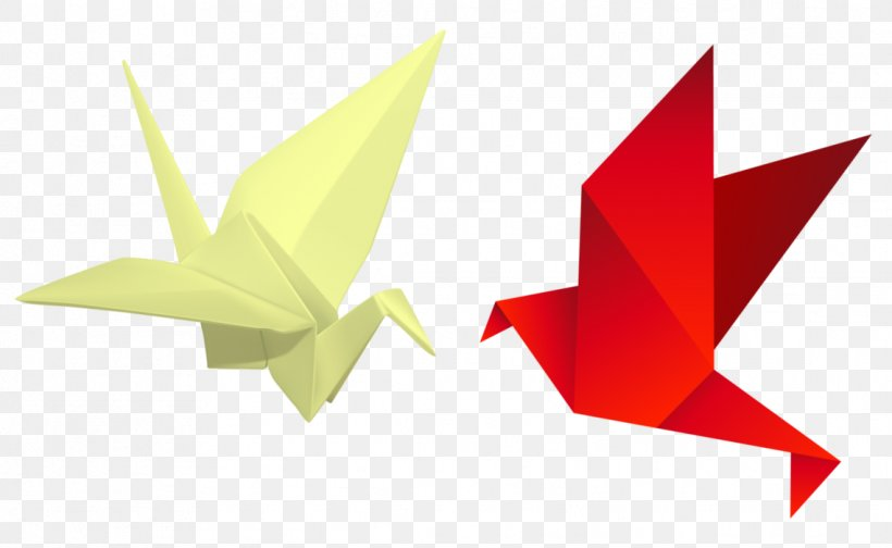 Origami paper crane mobile phone wallpaper vector | free image by ... | 504x820