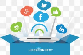 Everyone Connected - Hotspot Wi-Fi Brand Internet Social Media PNG