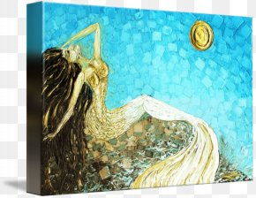 Painting - Painting Gallery Wrap Canvas Print Art PNG