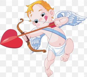 Cupid - Cupid And Psyche Valentine's Day Clip Art PNG