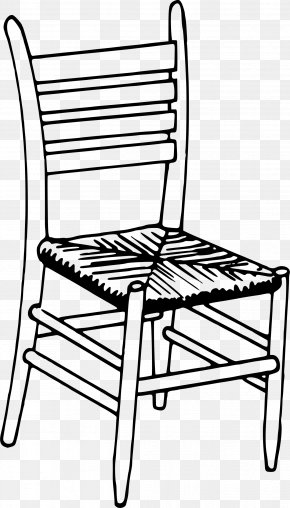 Chairs - Chair Drawing Furniture Coloring Book PNG