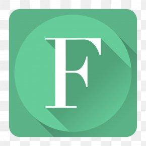 FontBook - Brand Aqua Green PNG