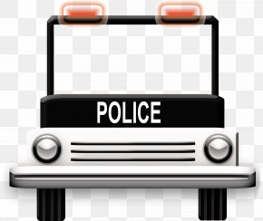 Police Car - Technology Police Hook And Loop Fastener PNG