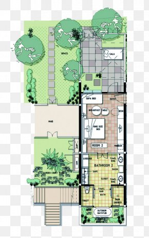 Luxury Villas - Floor Plan Melati Beach Resort & Spa Hotel PNG