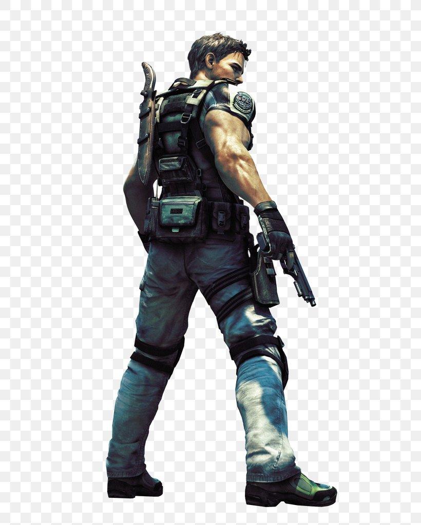 Resident Evil 5 Chris Redfield Resident Evil The Mercenaries 3d Xbox 360 Png 717x1024px Resident Evil