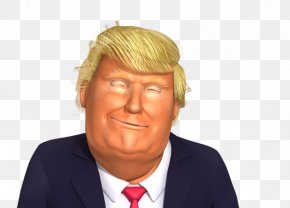 Donald Trump - Donald Trump Trump Tower Republican Party US Presidential Election 2016 Our Cartoon President PNG
