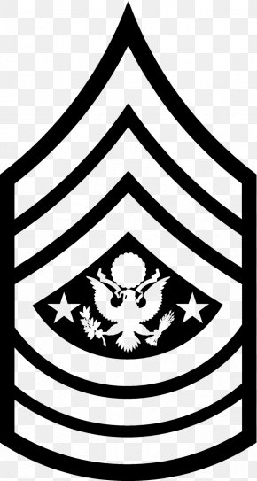 Military - Sergeant Major Of The Army United States Army Military Rank PNG