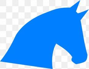Blue Horse Cliparts - Arabian Horse Fjord Horse Horse Head Mask Clip Art PNG