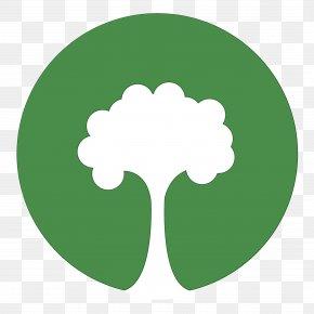 Logo Symbol - Green Leaf Watercolor PNG