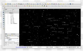 Stellar Map - Star Chart Computer Program Geographic Information System Map QGIS PNG