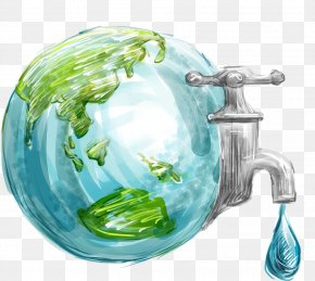 Environmental Earth - Earth World Water Day Water Conservation Water Efficiency PNG