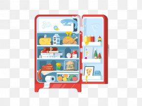 Refrigerator - Refrigerator Illustration PNG