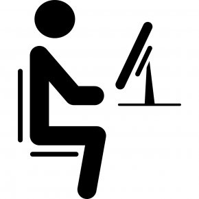 Icons Download Computer User - Laptop User Clip Art PNG