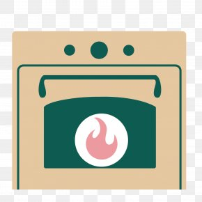 Vector Brown Oven Icon Decoration - Oven Clip Art PNG