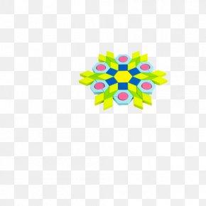 Toy - Yellow Petal Pattern PNG