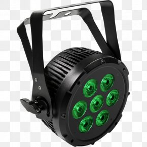 Led Stage Lighting Spotlights Particles - Light-emitting Diode Searchlight LED Stage Lighting PNG