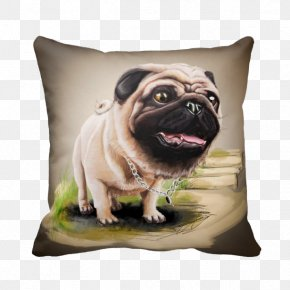 Pug Pillow - Pug Dog Breed Shih Tzu Bichon Frise Miniature Schnauzer PNG