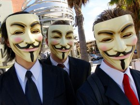 Anonymous Mask - Topiary United States Anonymous Swizz Beatz Megaupload PNG