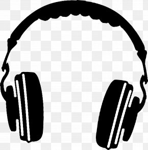 Headphones - Headphones Silhouette Clip Art PNG