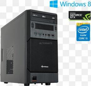 Intel - Computer Cases & Housings Intel Core I5 Data Storage Electronics PNG