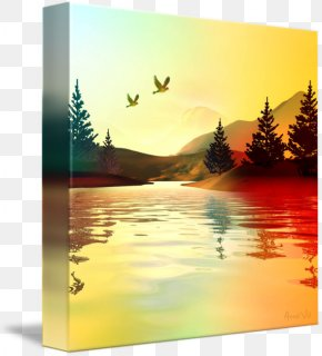 Summer Nights - Gallery Wrap Picture Frames Canvas Desktop Wallpaper Photography PNG