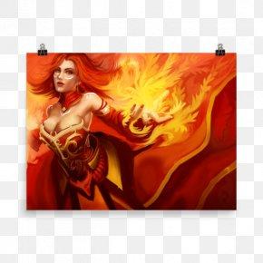 Lina Dota 2 - Dota 2 Defense Of The Ancients Lina Inverse Video Game Entity Esports PNG