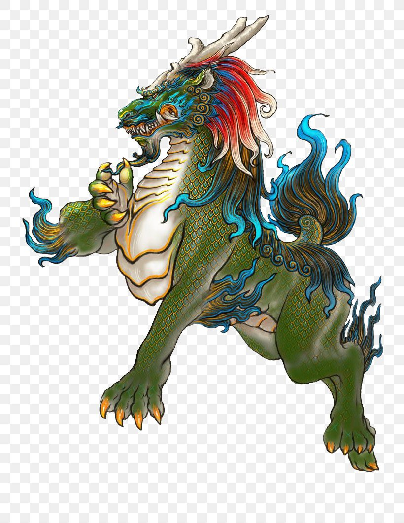 Classic Of Mountains And Seas Xiezhi U7075u517d Unicorn Radical 153, PNG, 800x1061px, Classic Of Mountains And Seas, Baidu 10 Mythical Creatures, Chinese Mythology, Dragon, Fictional Character Download Free
