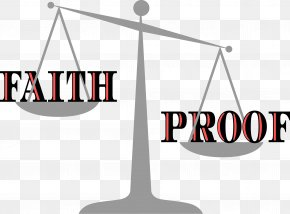 Faith - Measuring Scales Lady Justice Clip Art PNG