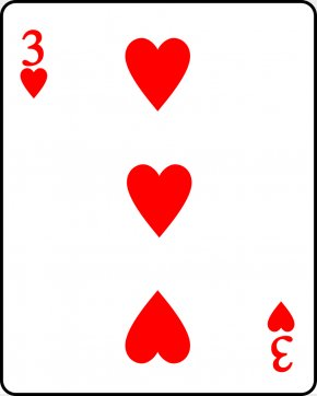 Heart Playing Cards - Playing Card Hearts Contract Bridge Suit King PNG