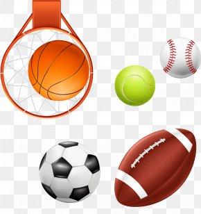 Vector Ball Games Baseball Football Basketball - Basketball Baseball Ball Game Football PNG