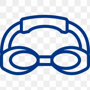 Swimming - Goggles Swimming Sport Clip Art PNG
