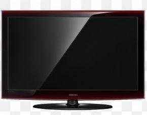 Samsung - LCD Television LED-backlit LCD Computer Monitors Samsung LEXXA656 Black Rose Liquid-crystal Display PNG